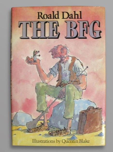 Signed first edition of Roald Dahl's BFG