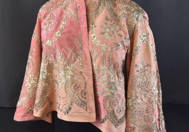 A silk jacket belonging to Queen Victoria