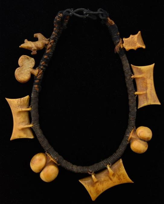 An antique Polynesian necklace