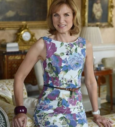 Fiona Bruce of Antiques Roadshow