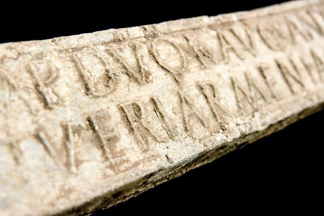 A Roman lead ingot