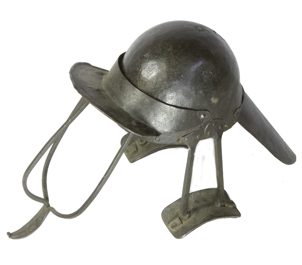 English Civil War period siege helmet