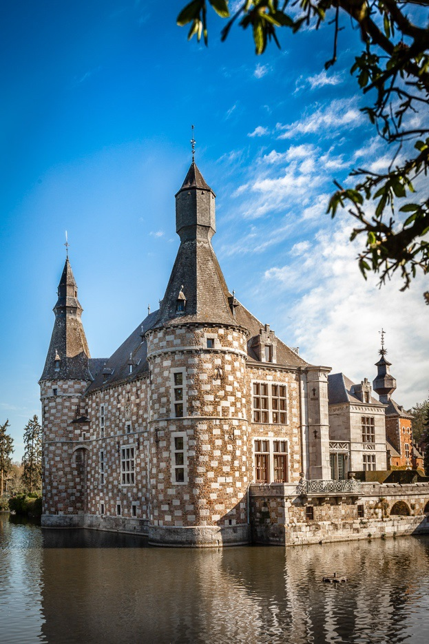 Castle of Jehay, Province of Liège, Belgium