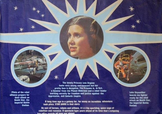 A rare Star Wars film poster