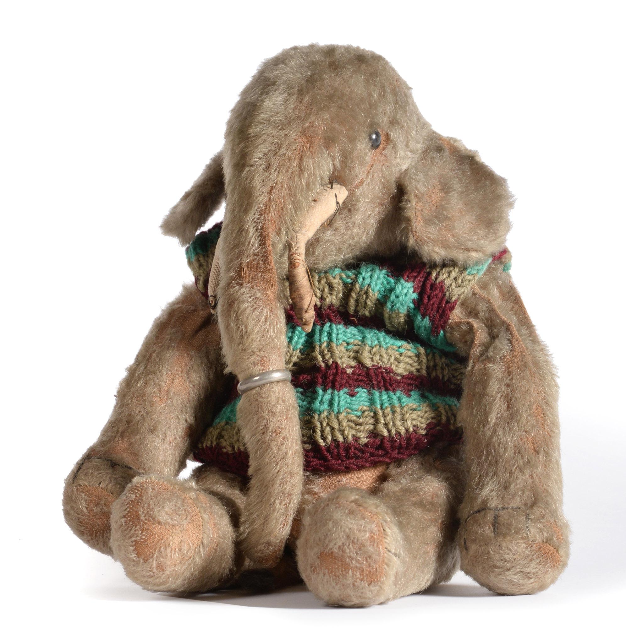 An early Steiff Elephant