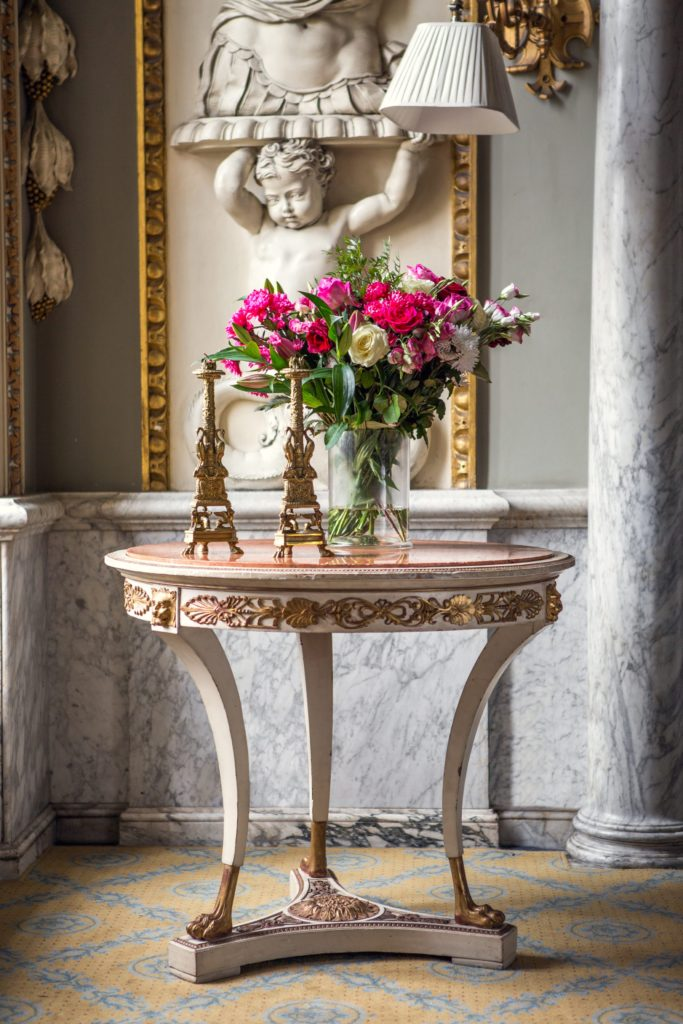 An antique table on The Pedestal