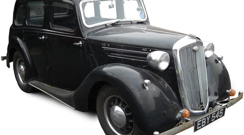 A 1939 Wolseley 10 saloon