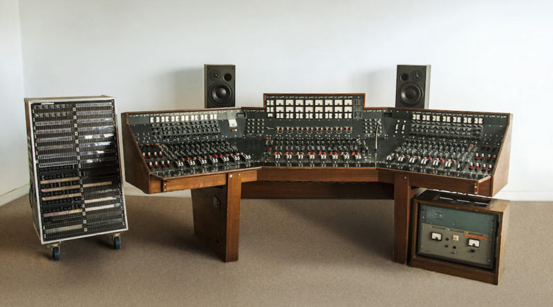 Pink Floyd 39 S Recording Console At Bonhams Antique Collecting Magazine