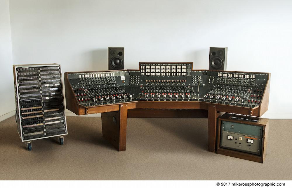 Abbey Road Studios EMI TG12345 MK IV recording console