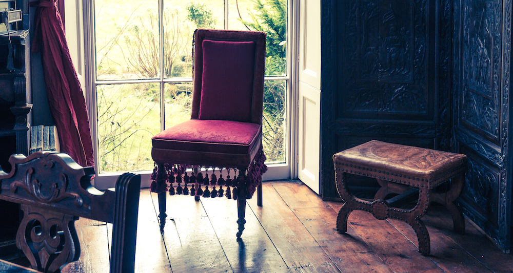 An antique chair