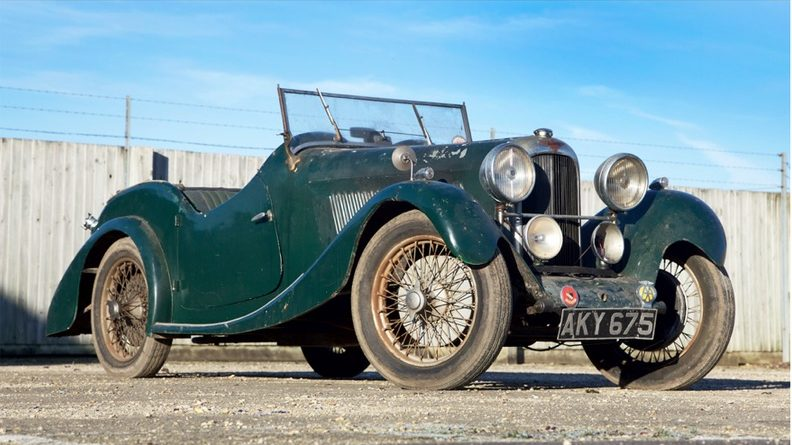 1936 Lagonda Rapier 10hp Tourer