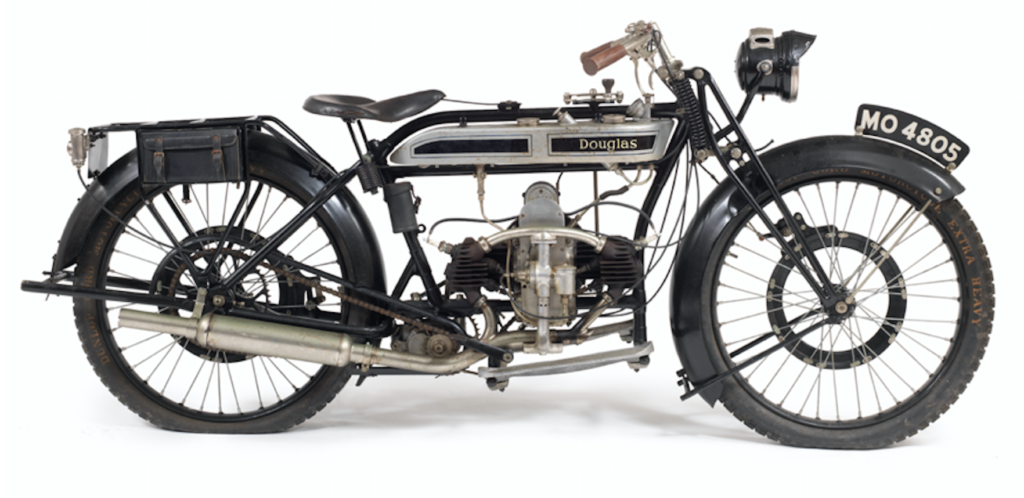925 Douglas 2¾hp Model CW motor cycle.