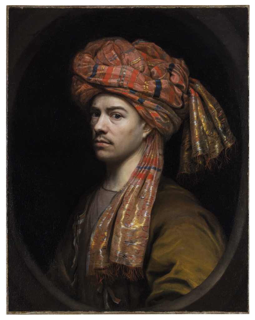 elf-Portrait with a Turban, by Wallerant Vaillant (1623-1677)