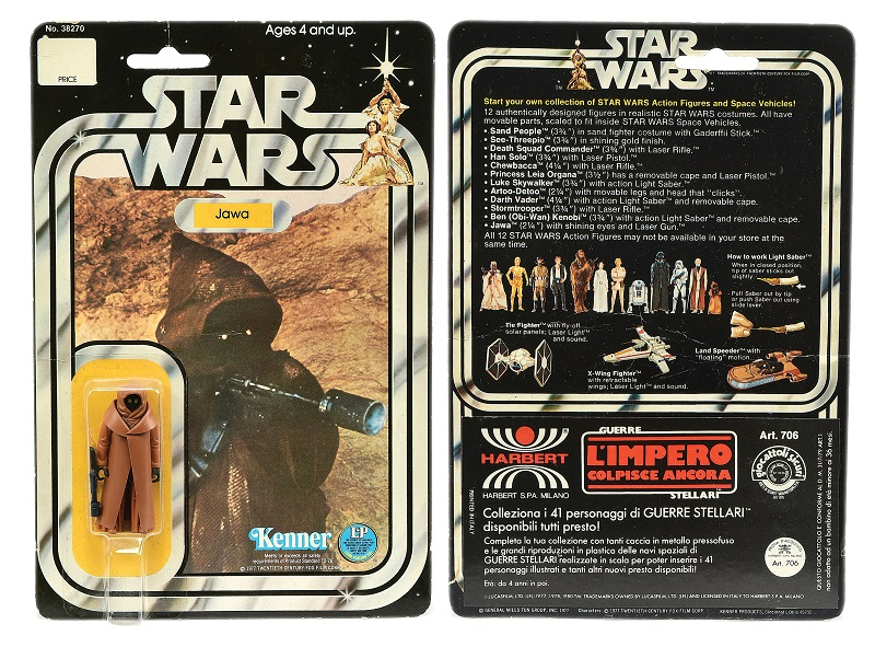 Jawa Star Wars figure