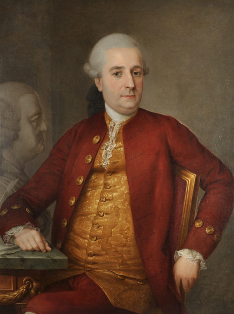 lost portrait of the composer Johann Sebastian Bach