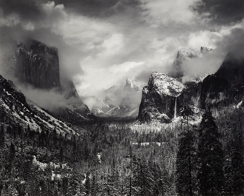 Ansel Adams Clearing Winter Storm, Yosemite National Park