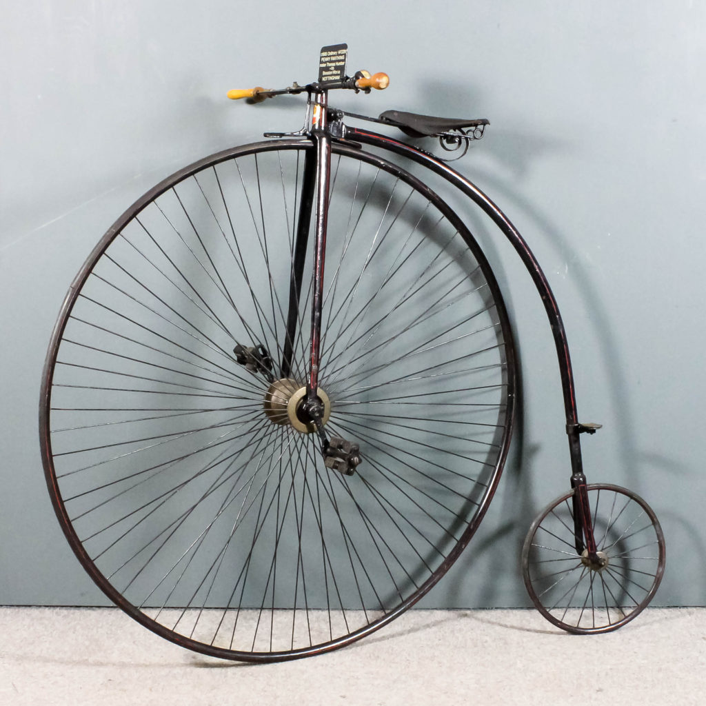 "A Victorian ""Penny-Farthing"""