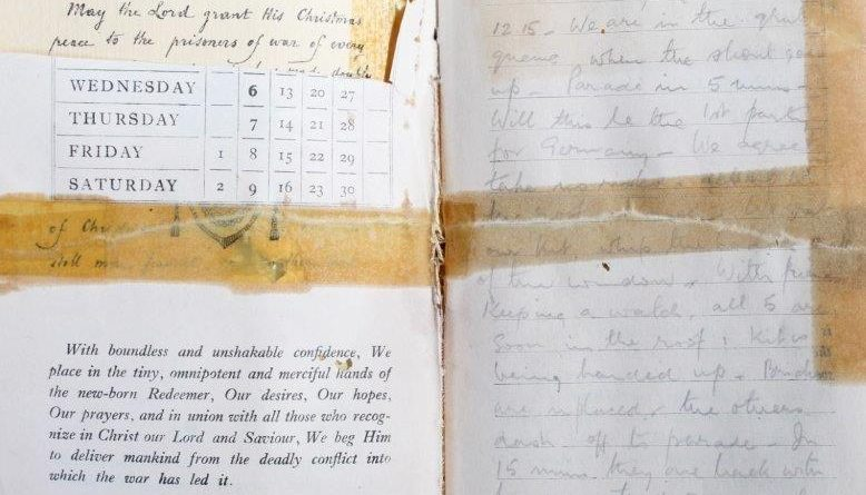 A prisoner of war diary