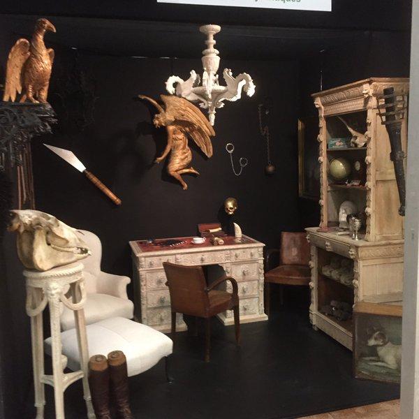 George Lily Antiques at Bath Decorative Fair