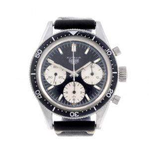 HEUER - a gentleman's stainless steel Autavia Jochen Rindt chronograph wrist watch