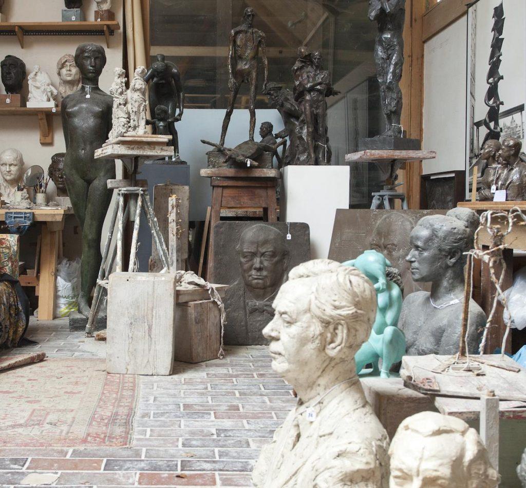 Mallams sale of sculptures