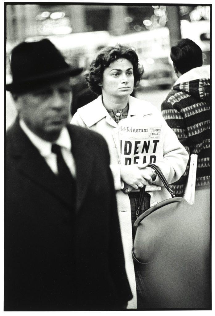 Richard Avedon Kennedy Assassination Times Square