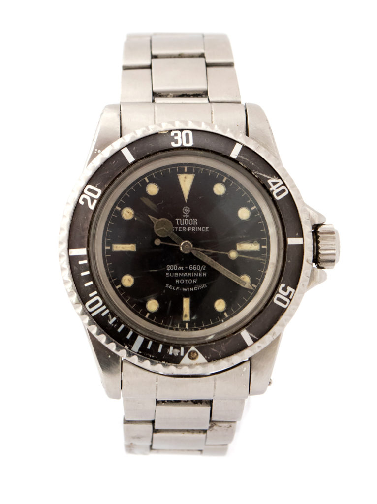 Tudor Rolex Submariner steel wristwatch