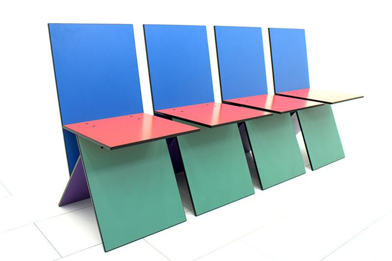 IKEA Vibert chairs by Panton