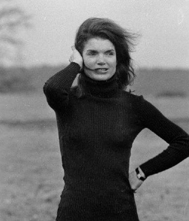 Jackie Kennedy wearing her Cartier Tank watch