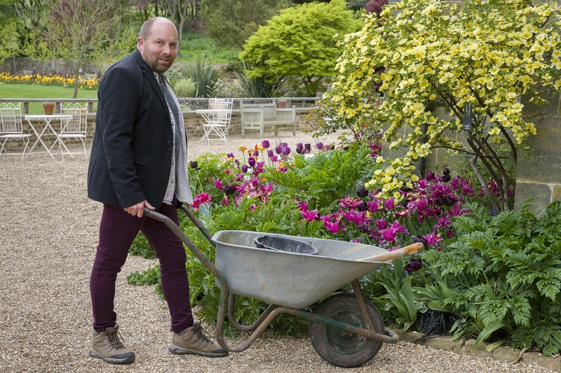 James Masters, head gardener at Standen
