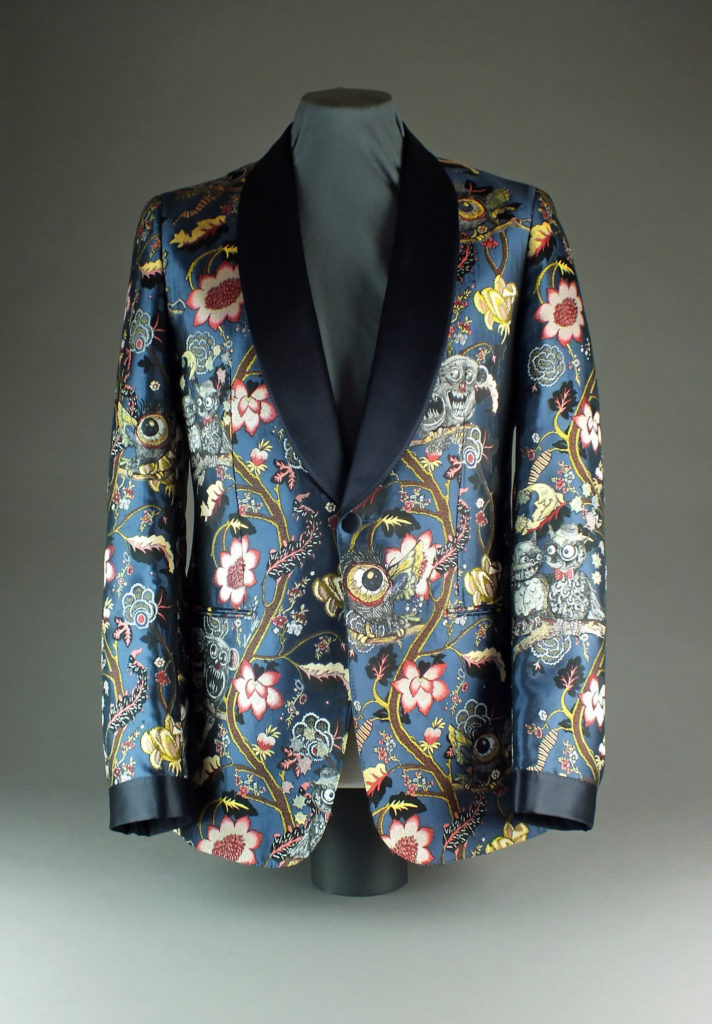 The Louis Vuitton evening jacket