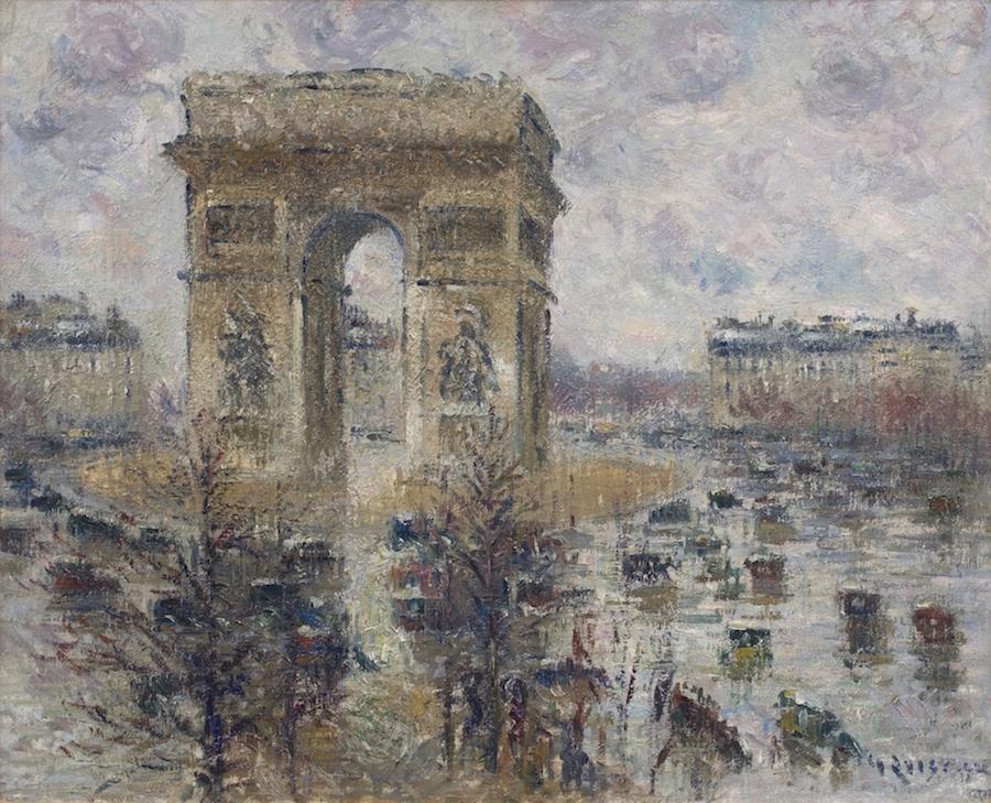 Loiseau Gustave Place de LEtoile
