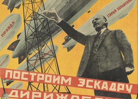 Soviet propoganda poster