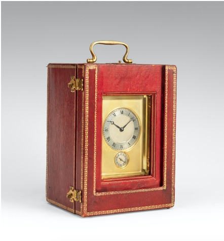 A 20th century carriage clock
