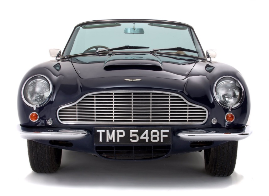 Aston Martin sold at Duke's auction house
