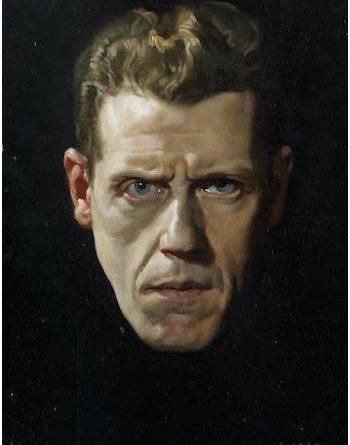 David Jagger self-portrait