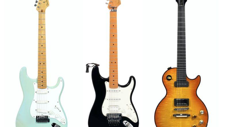 Gary Moore's guitars
