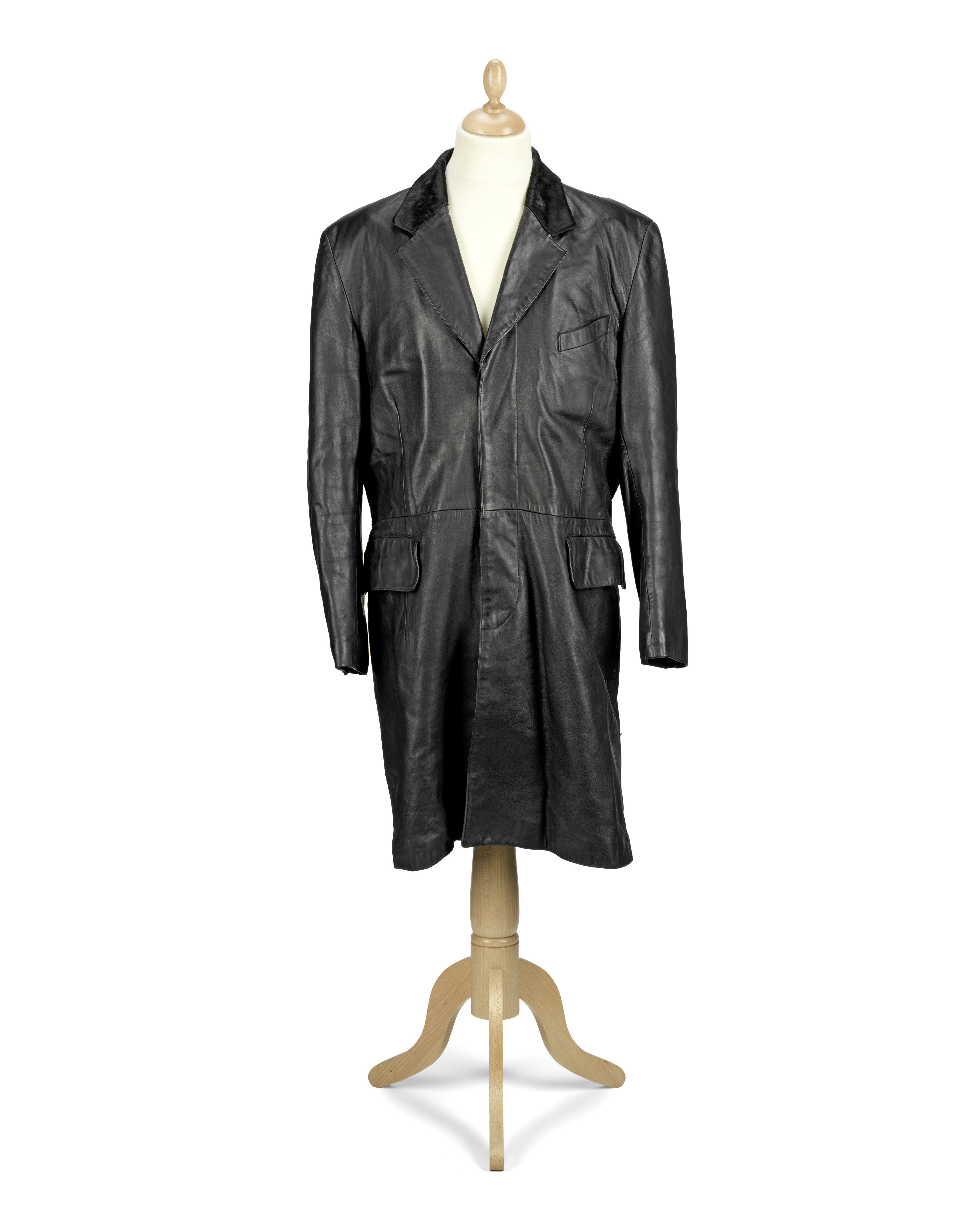 George Michael leather coat