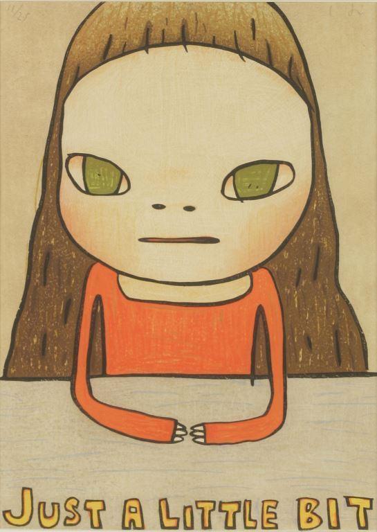 Japanese artist Yoshimoto Nara