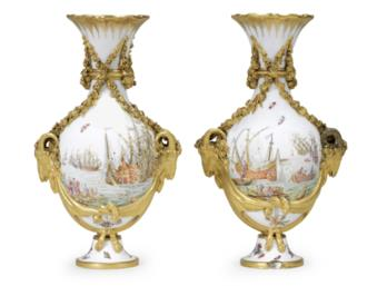 Pair of Royal Sevres vases