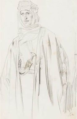 Sketch of TE Lawrence