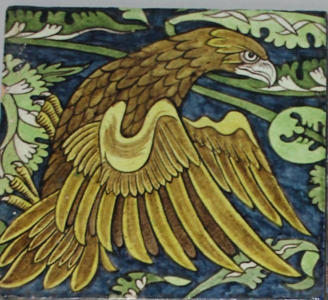 A William de Morgan tile