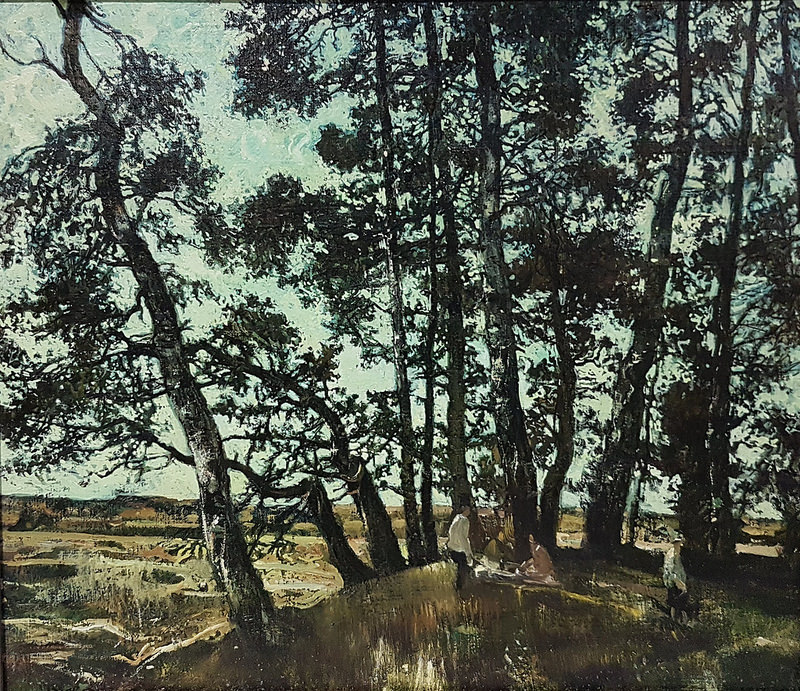A Shady Hillock by Andrei Mylinikov