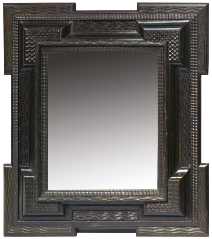 An antique picture frame