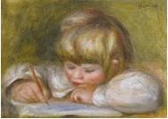'Coco Ecrivant' by Pierre-Auguste Renoir