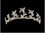 Gold, platinum and diamond tiara