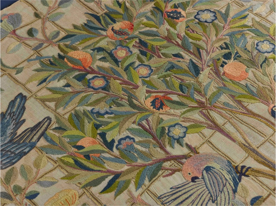 May Morris embroidery