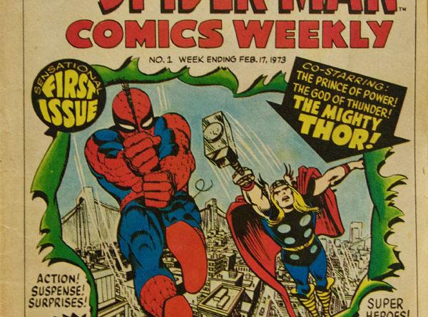 A classic Spiderman comic
