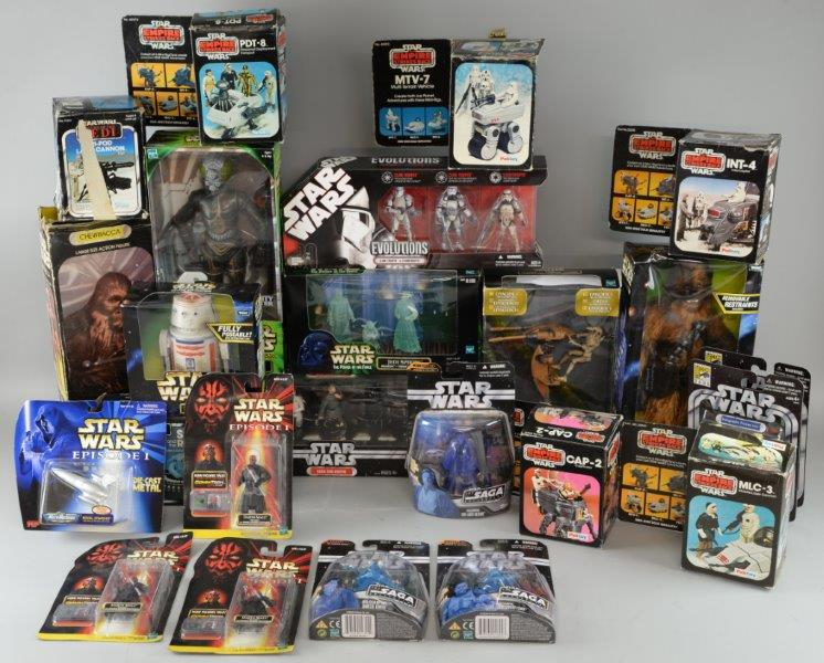 Star Wars toys and memorabilia