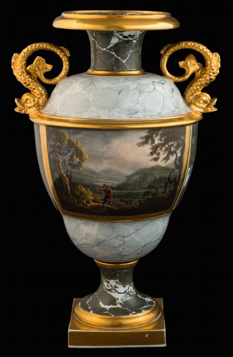 A Barr Flight & Barr [Worcester] two-handled vase